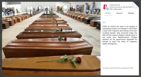 original source : AFP at Lampedusa