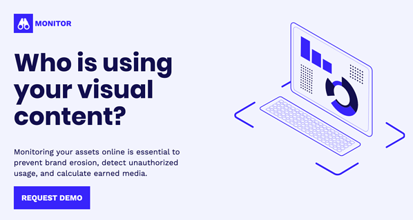 Who is using your visual content?