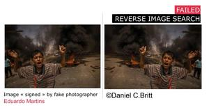 failed reverse image search
