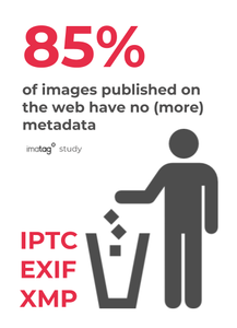 85% of online images have no metadata