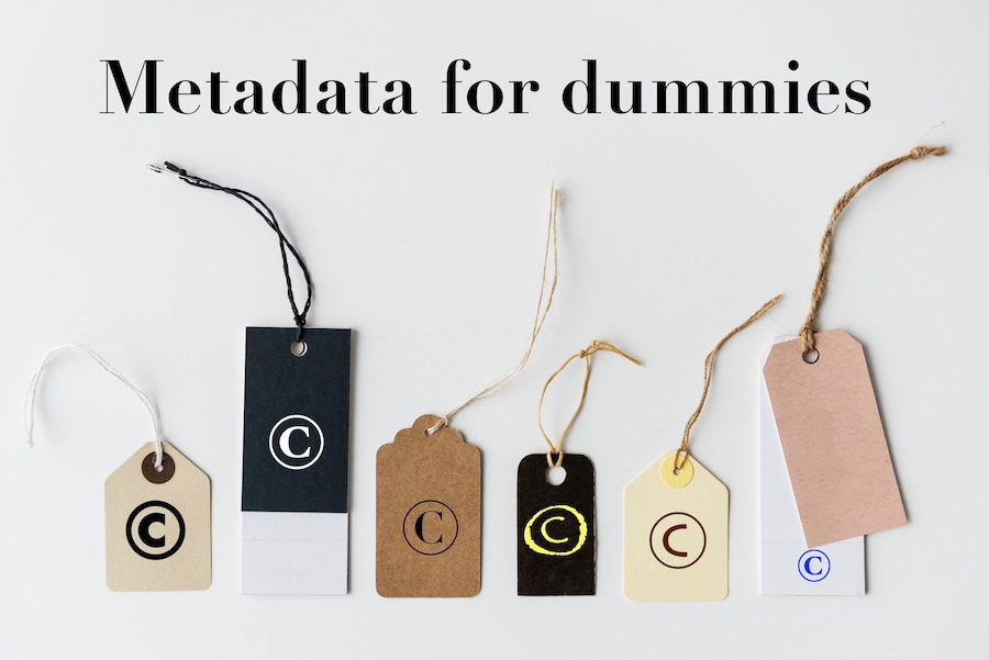 "Metadata for ""dummies"""